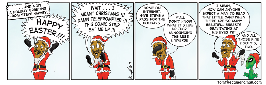 Holiday Greetings from Steve Harvey